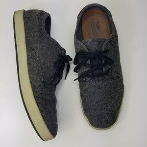 TOMS Paseo Fleck Sneakers  Men's Size 11.5